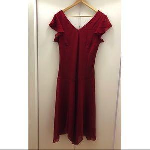 Vintage En Focus Studio Red Dress
